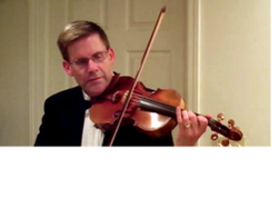 Mike Hall, violin